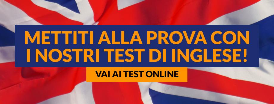 Mettiti alla prova con i nostri test online