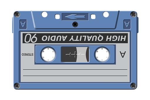 cassetta anni 80