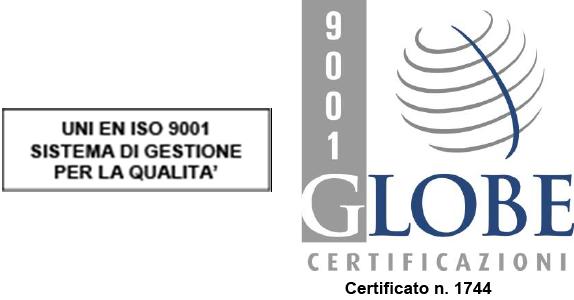 Globe Certificazioni ISO 9001